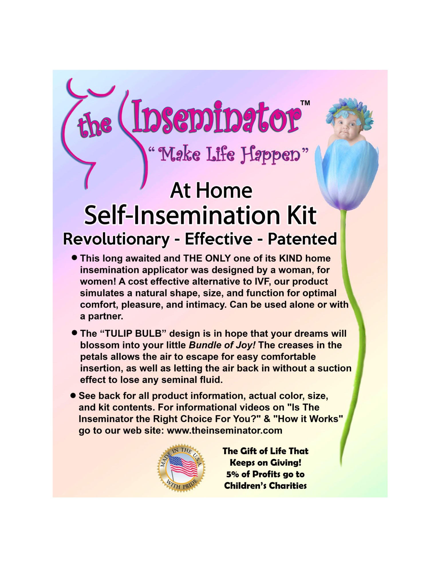 The inseminator self insemination kit the inseminator the inseminator self insemination kit solutioingenieria Images